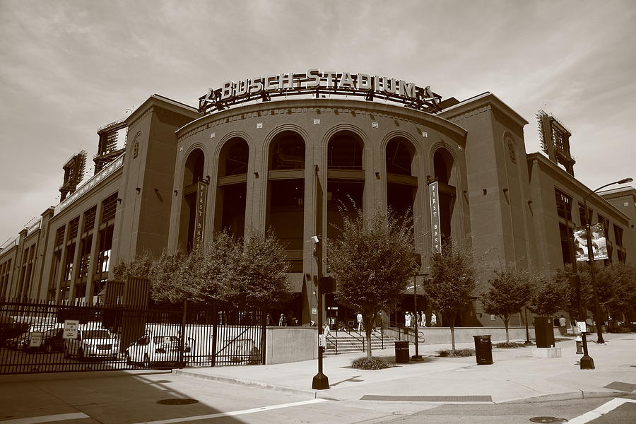 Busch Stadium - St. Louis Cardinals Photograph