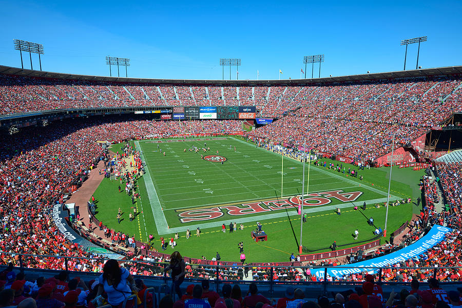Candlestick Park Photograph By Mark Whitt
