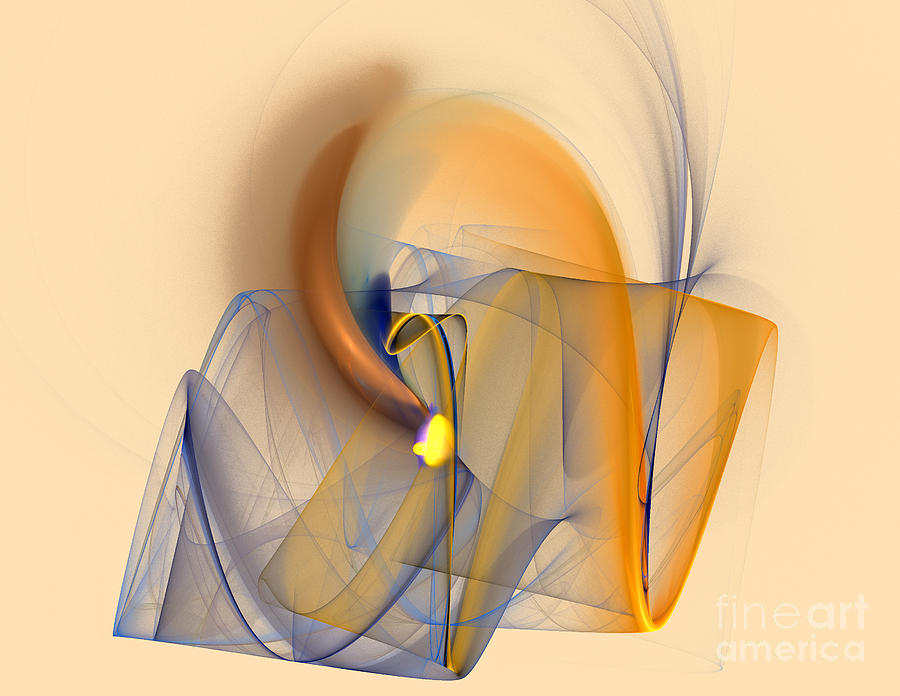 Background Digital Art - Colorful Abstract by Odon Czintos