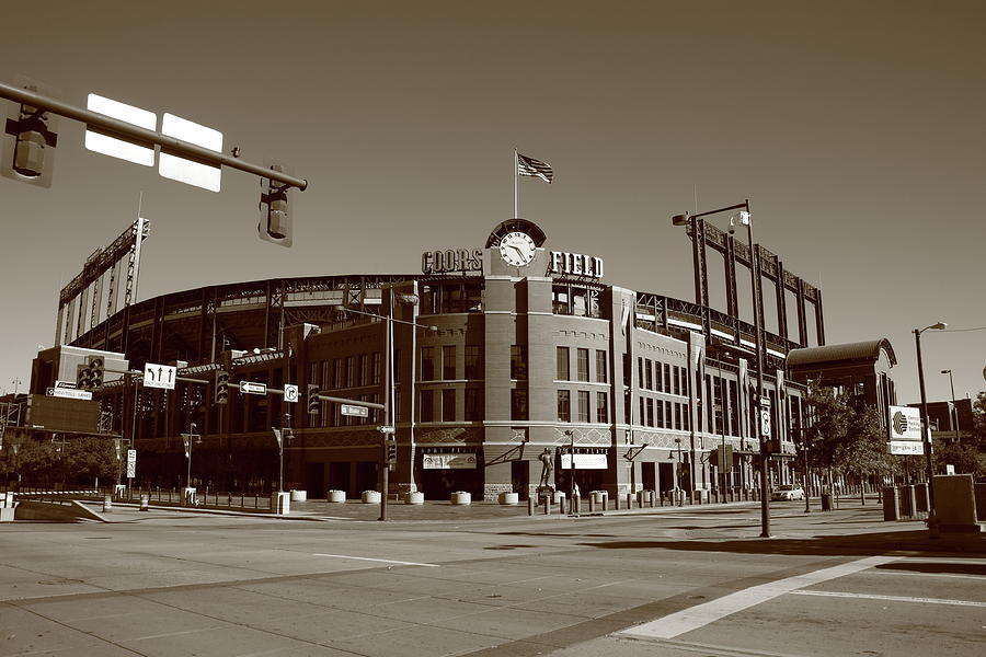 Coors Field - Colorado Rockies Photograph  - Coors Field - Colorado Rockies Fine Art Print