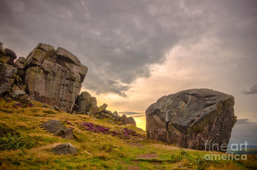 Cow And Calf Rocks Photograph