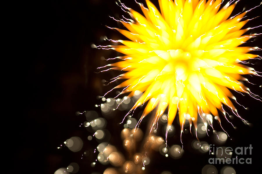 Fireworks Art Photograph