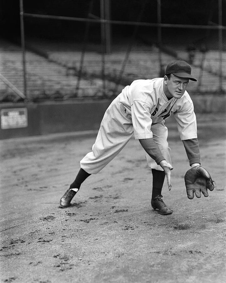 Baseball Photograph - Joseph E. Joe Cronin by Retro Images Archive