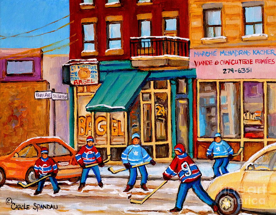 Montreal Paintings Painting