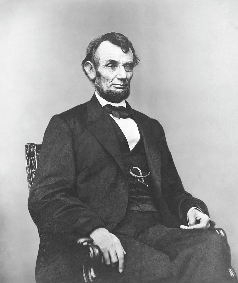 President Lincoln Photograph