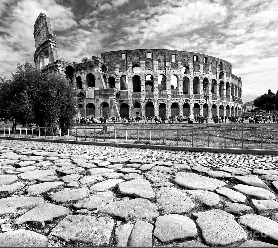 The Majestic Coliseum - Rome Photograph