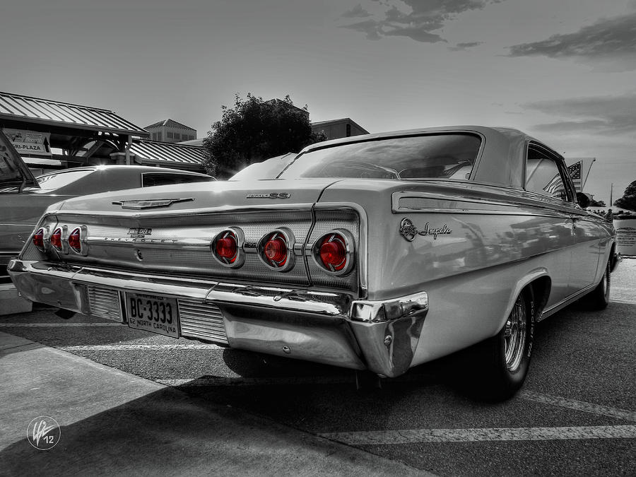 Cheverolet Photograph - 62 Impala Ss 001 by Lance Vaughn
