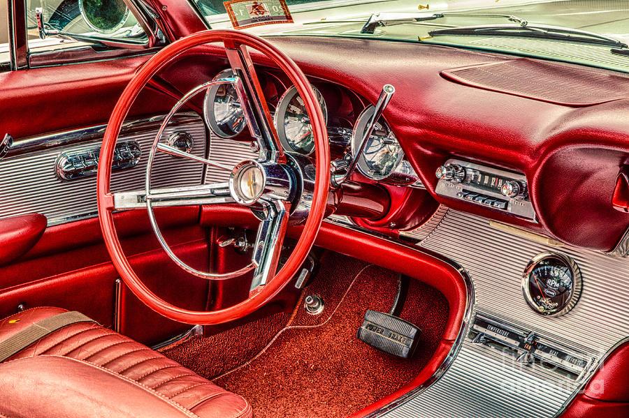 62 Thunderbird Interior Photograph By Jerry Fornarotto