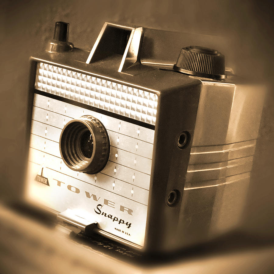 Plastic Camera Photograph - 620 Camera by Mike McGlothlen