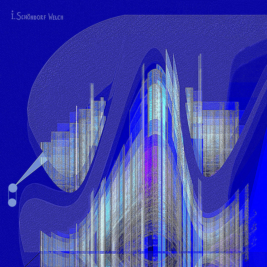 629 - City Of Future 5 Digital Art