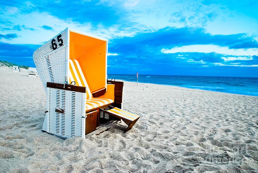 Beach Photograph - 65 Invites by Hannes Cmarits