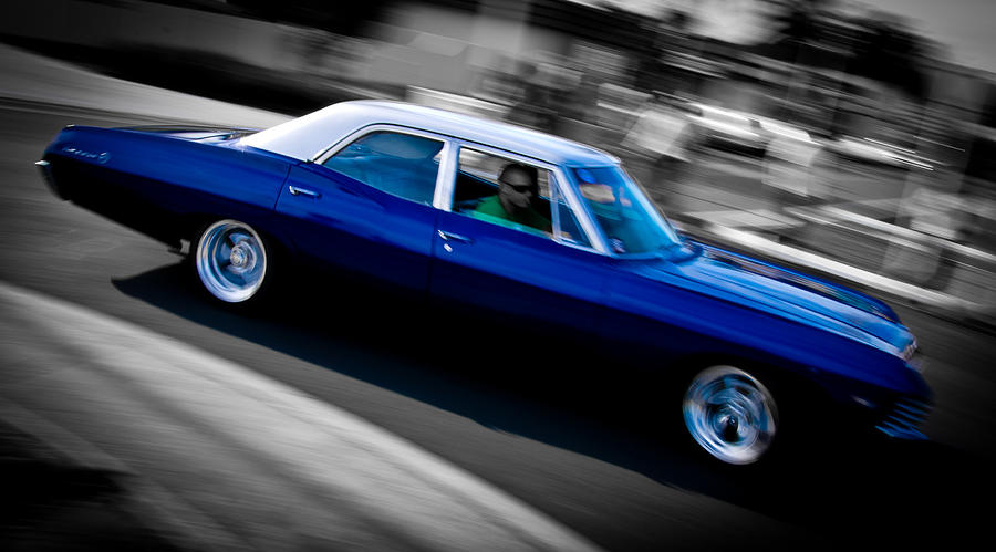 Chevrolet Photograph - 67 Chev Impala by Phil motography Clark
