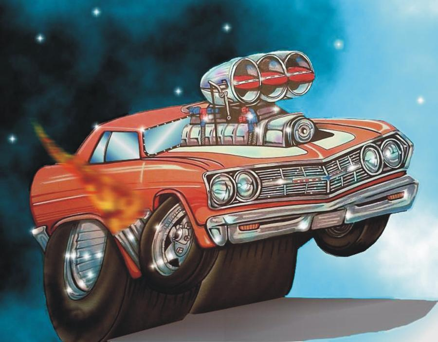 67 Chevelle Digital Art  - 67 Chevelle Fine Art Print