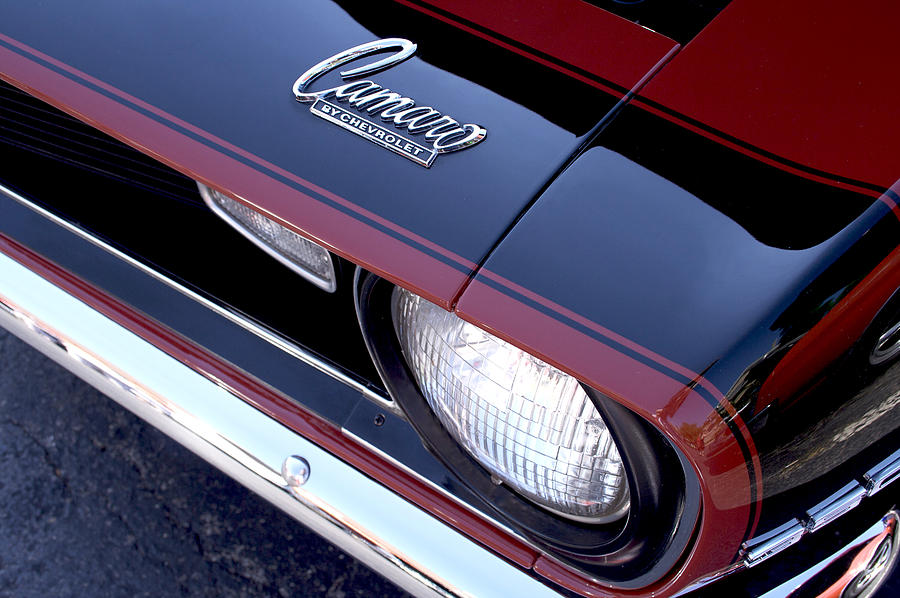 1968 Photograph - 68 Camaro by Mike Maher