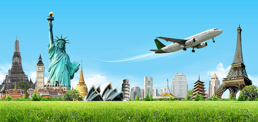Background Travel Concept Digital Art
