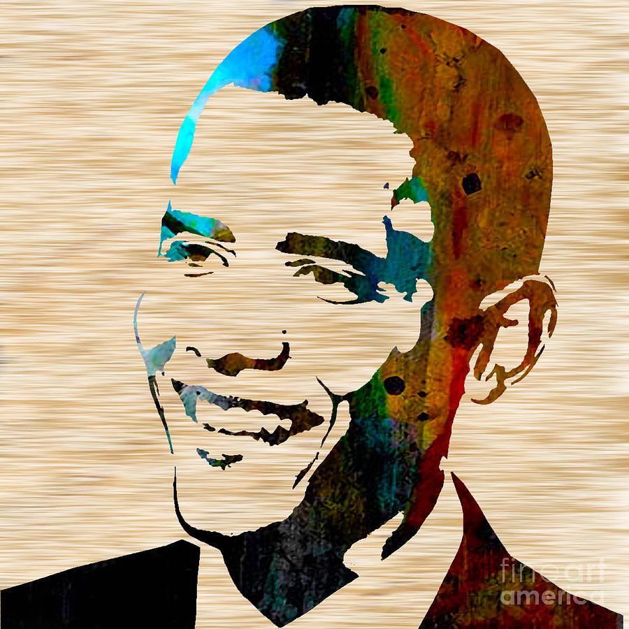 Barack Obama Mixed Media