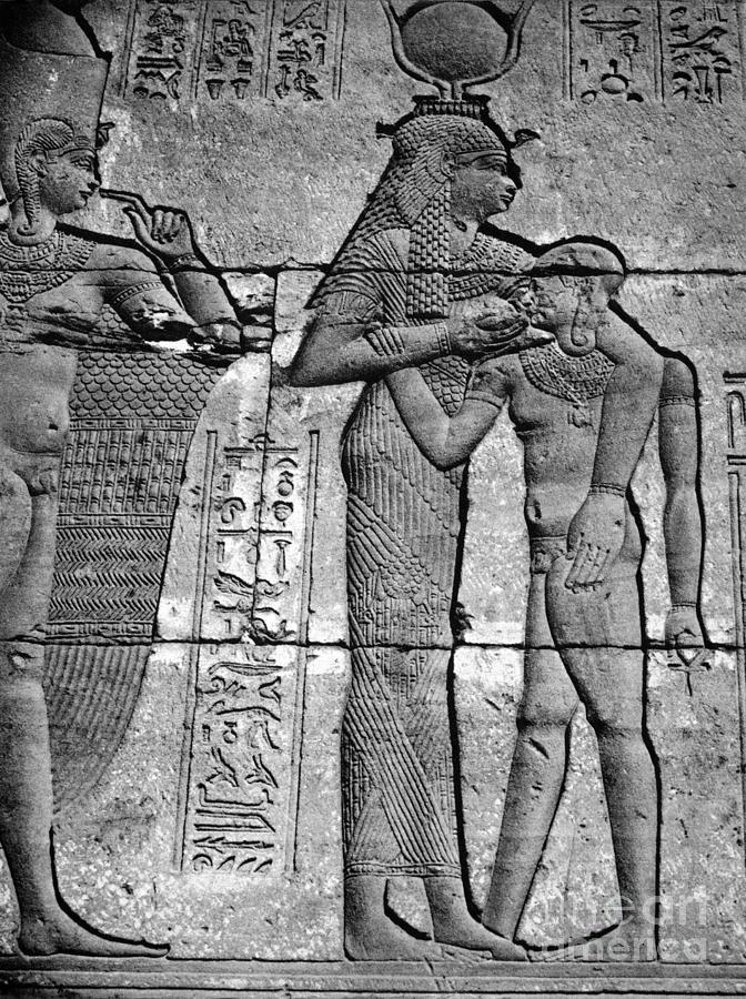 Cleopatra Vii (69-30 B.c.) Photograph