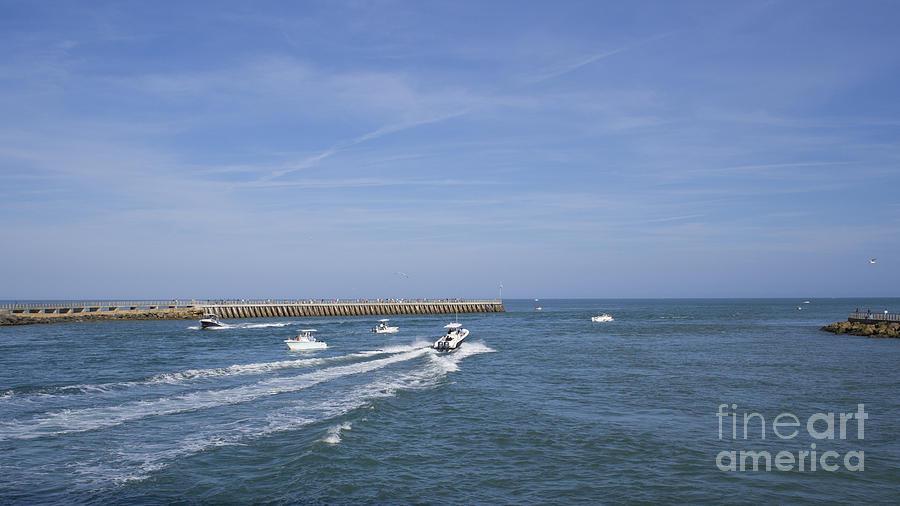 Fishing at sebastian inlet in florida photograph by allan for Sebastian inlet fishing report