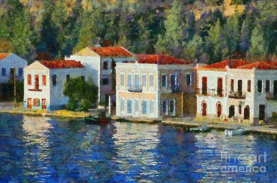 Kastellorizo Island Painting