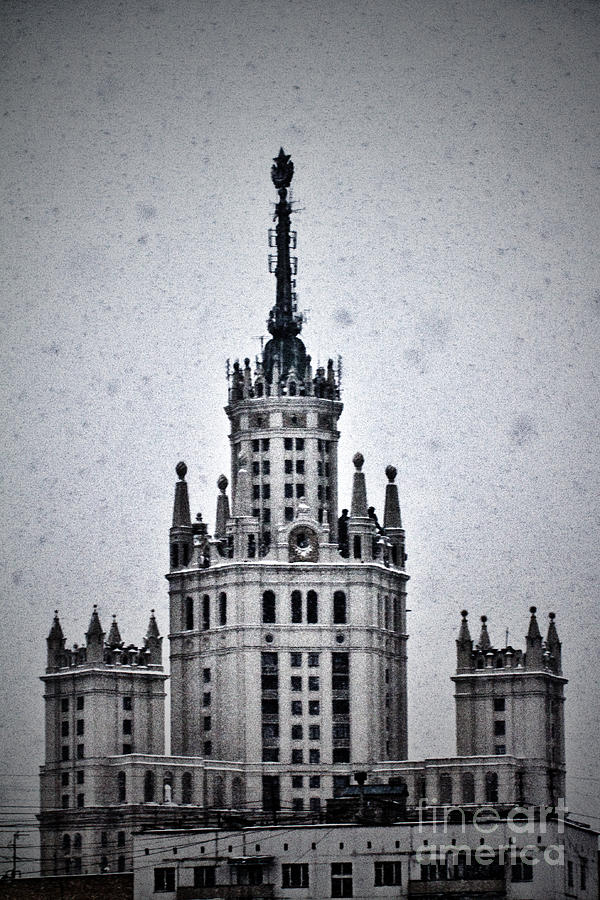 7 Towers Of Moscow Photograph