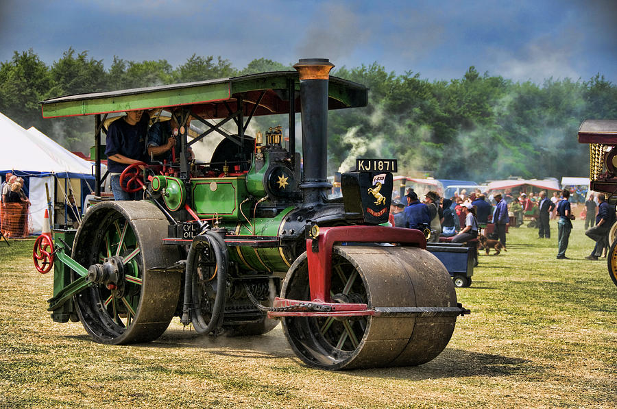 Traction Engine Photograph