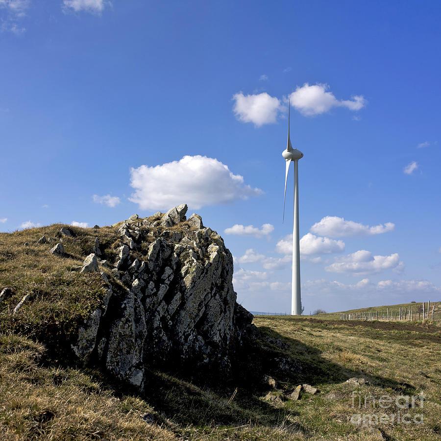 Wind Turbine Photograph