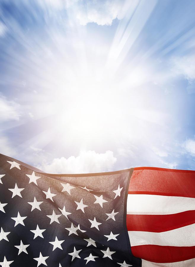 American Flag Photograph