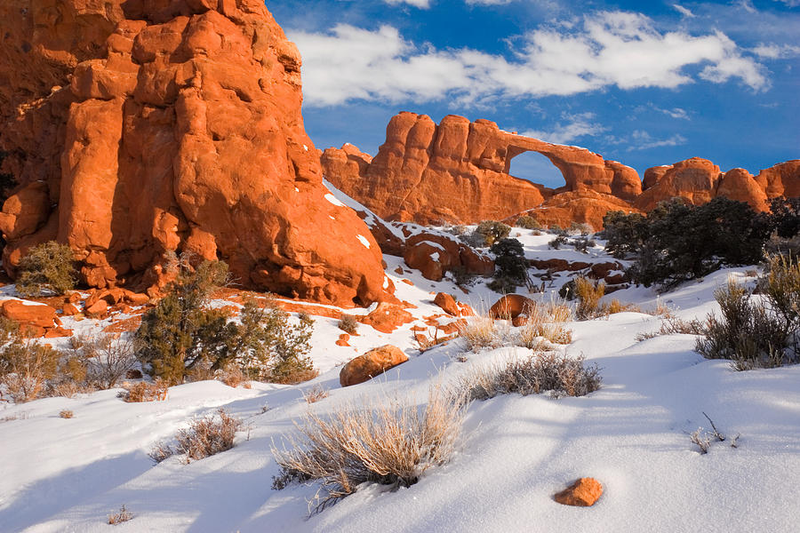 Skyline Arch Photograph - Arches National Park by Utah Images
