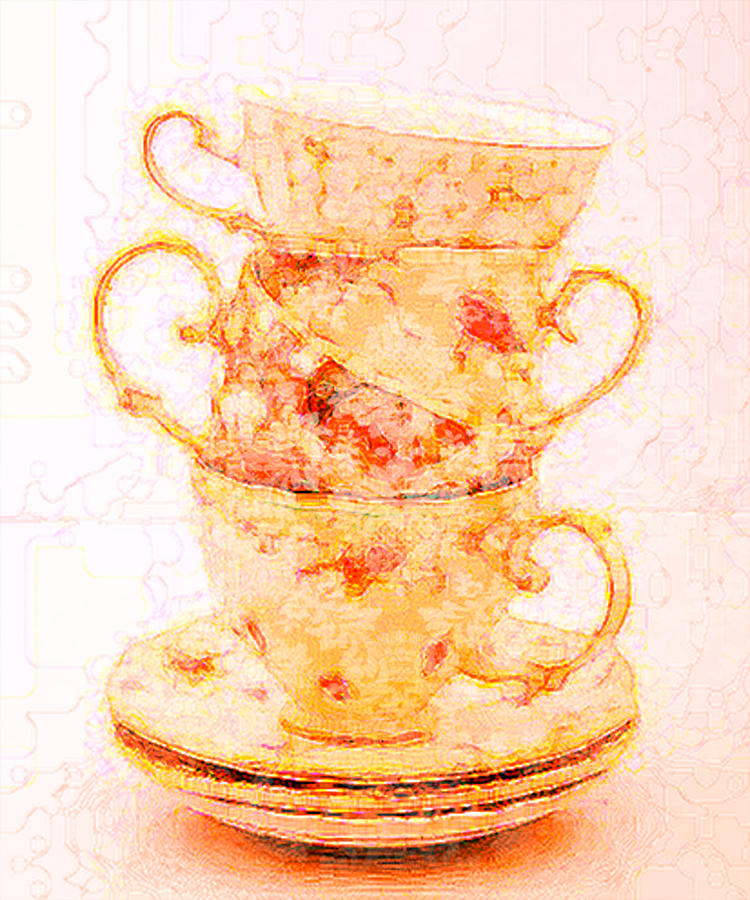 Before Tea Digital Art  - Before Tea Fine Art Print