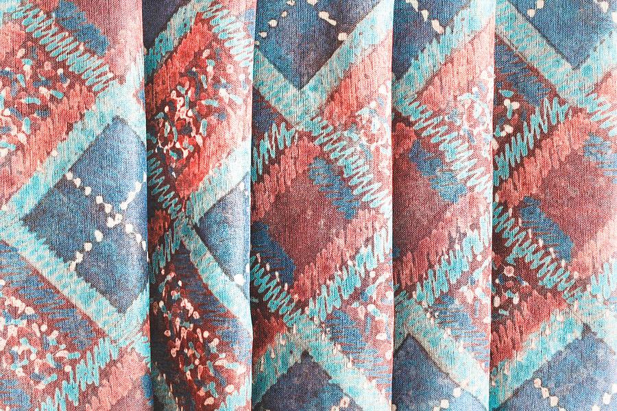 Colorful Cloth Photograph