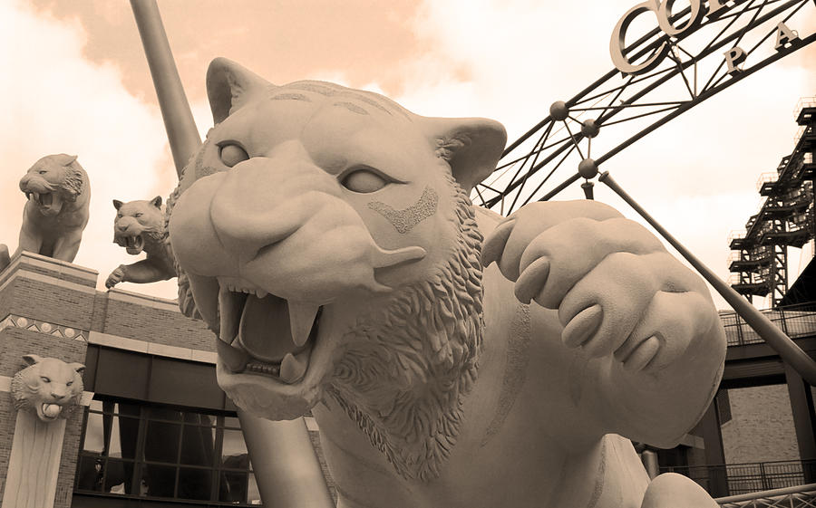 Comerica Park - Detroit Tigers Photograph