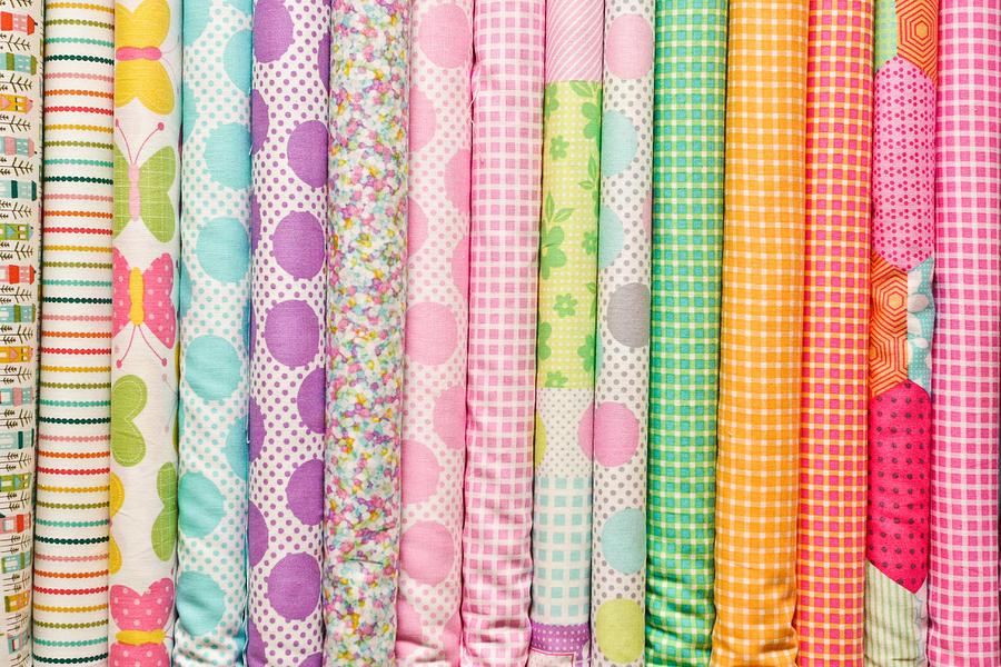 Fabric Background Photograph