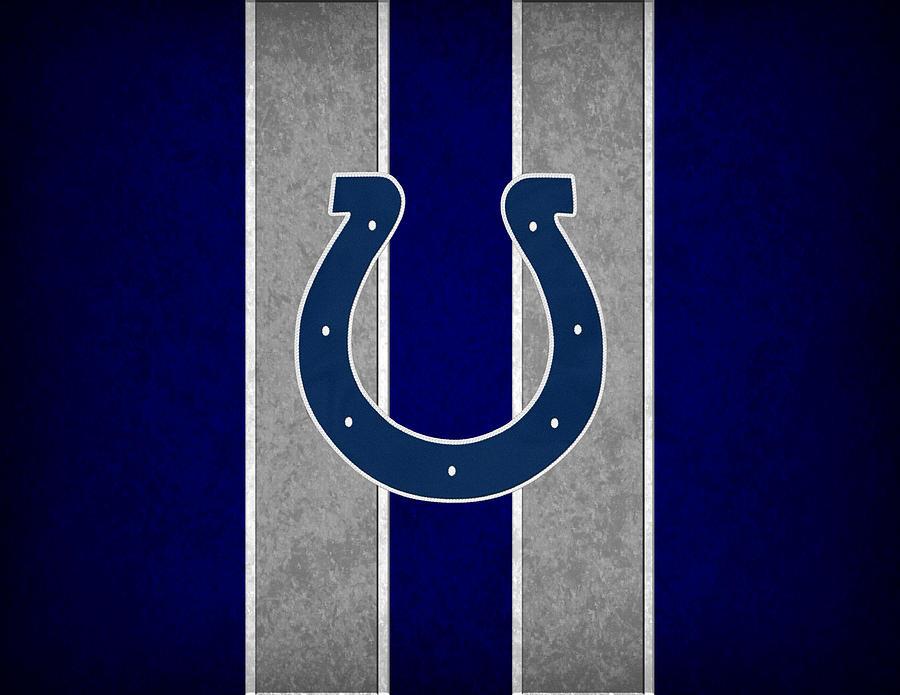 Colts Photograph - Indianapolis Colts by Joe Hamilton