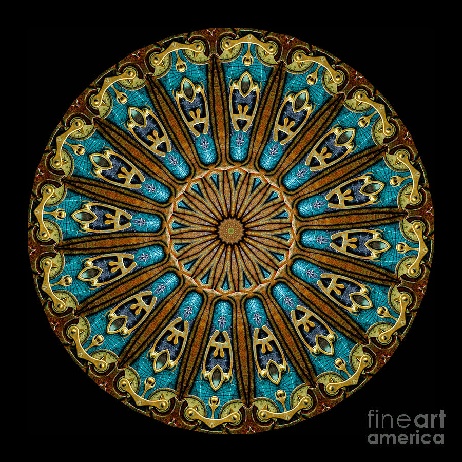 Kaleidoscope Steampunk Series Photograph