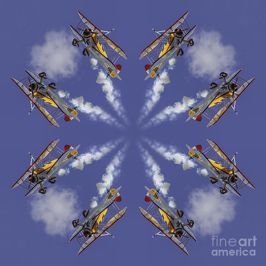 8 Planes Photograph