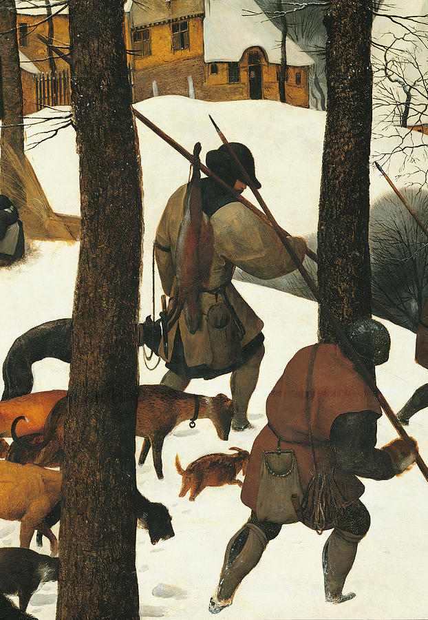 The Hunters In The Snow, By Pieter Painting