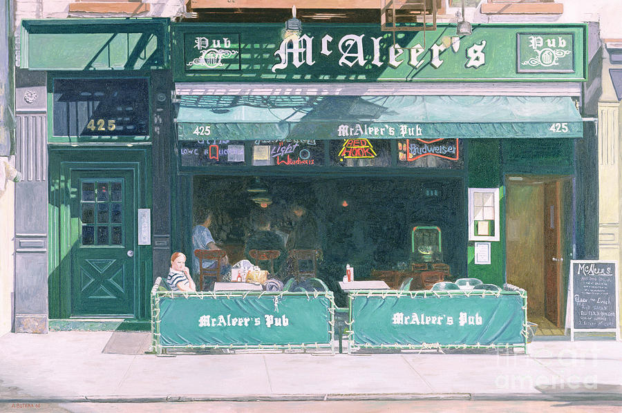 80th And Amsterdam Avenue Painting  - 80th And Amsterdam Avenue Fine Art Print