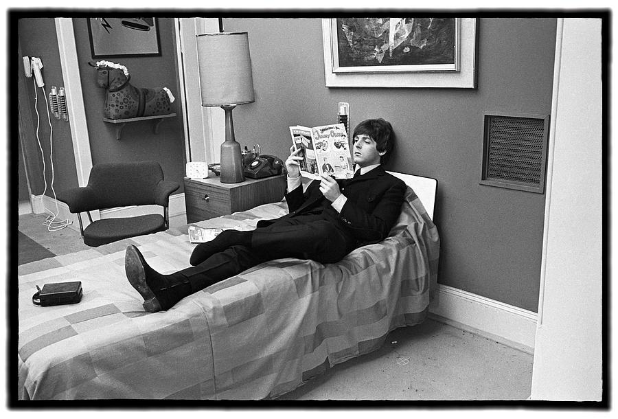 Beatles Help Paul Mccartney Photograph