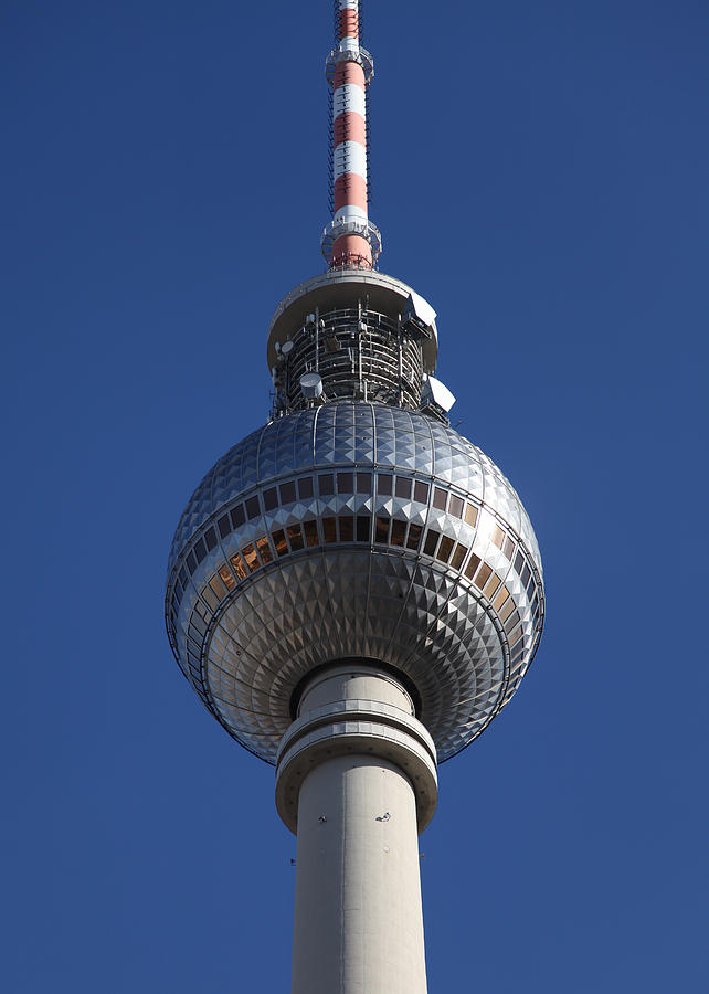 Berlin Tv Tower Photograph