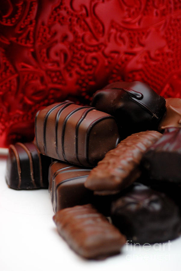 Chocolate Candies Photograph  - Chocolate Candies Fine Art Print