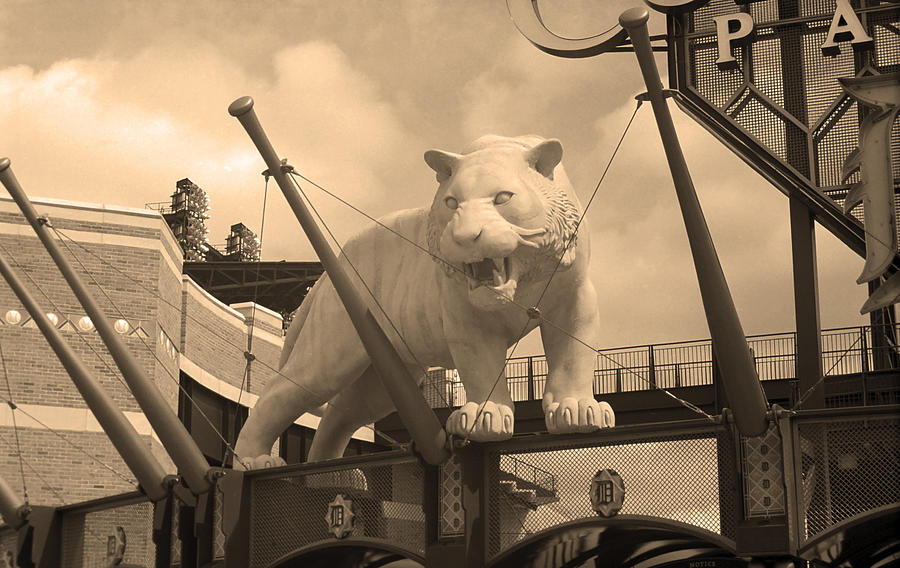 America Photograph - Comerica Park - Detroit Tigers by Frank Romeo
