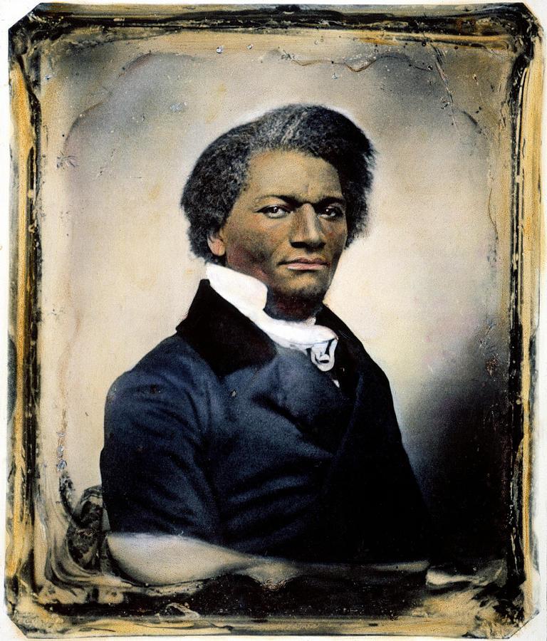 1855 Photograph - Frederick Douglass by Granger