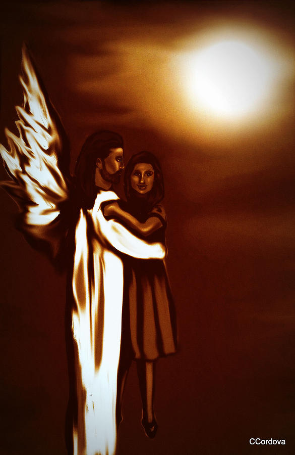 Guardian Angel Painting