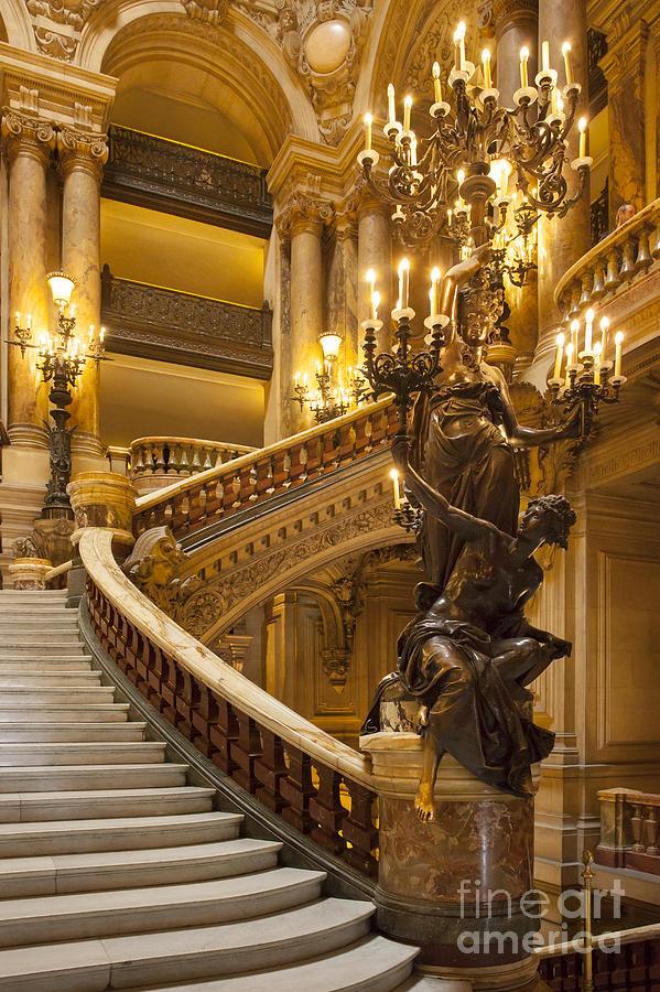 Palais Garnier Interior Photograph