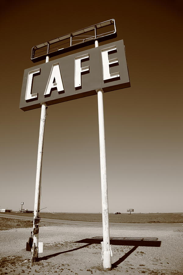 Route 66 Cafe Photograph  - Route 66 Cafe Fine Art Print