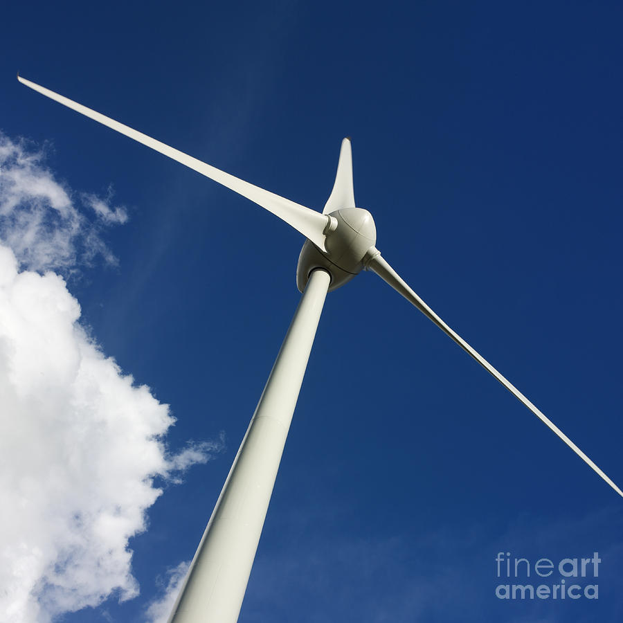 Wind Turbine Photograph