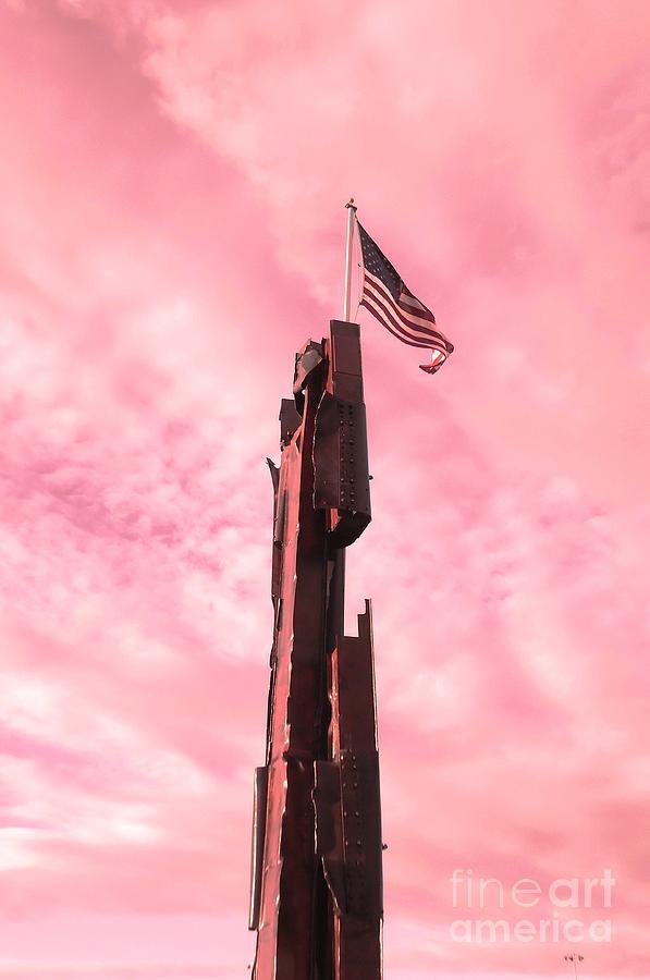 911 Memorial Sky Photograph