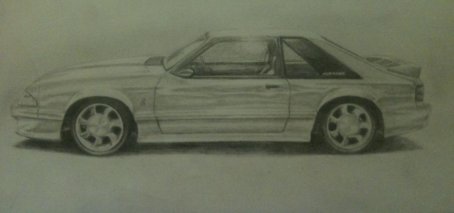 93 Cobra Drawing