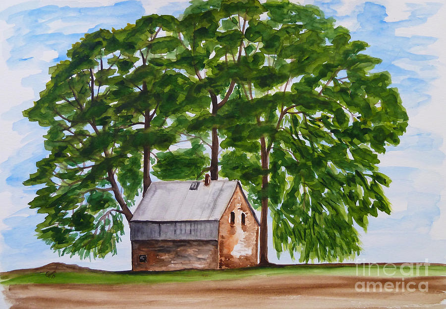 Place Painting - A Beautiful Place On Earth by Christine Huwer