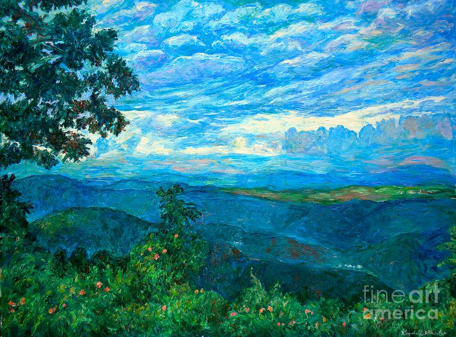 A Break In The Clouds Painting  - A Break In The Clouds Fine Art Print